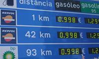 Preços nas Auto-Estradas